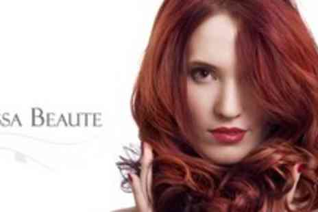 Ivissa Beaute - Three Appointments for Colour or Highlights, Restyle, Conditioning, and ghd Styling Package- Save 81%