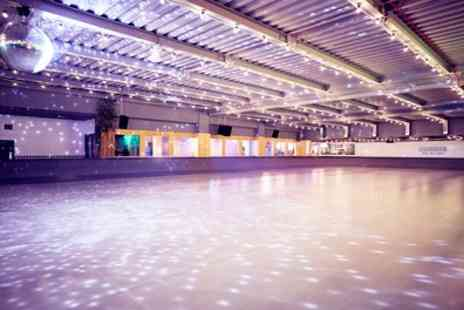 Queens Skate - Ice Skating with Skate Hire for Up to 32 People - Save 45%