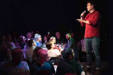 into the blue - Two or Four Tickets to a Jongleurs Comedy Night in 5 UK Venues - Save 0%