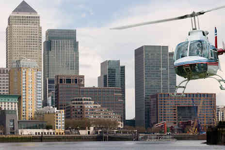 into the blue - 30 Minute Helicopter Tour of London - Save 0%