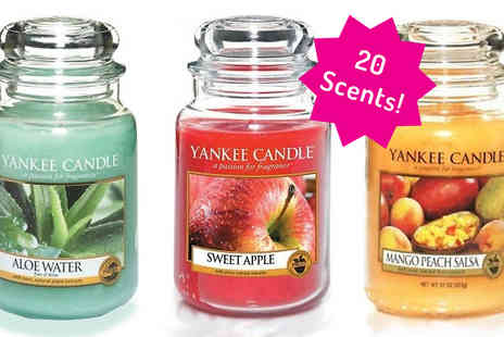 DH - Large Yankee Candle  in 20 Scents - Save 0%