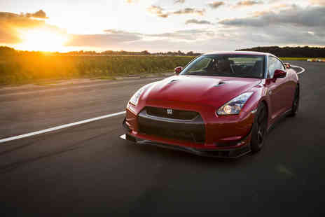 Drift Limits - 14 lap Nissan GTR driving experience - Save 50%
