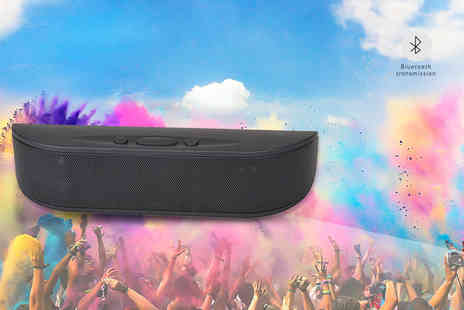 ViVo Technologies - Portable wireless Bluetooth speaker - Save 73%