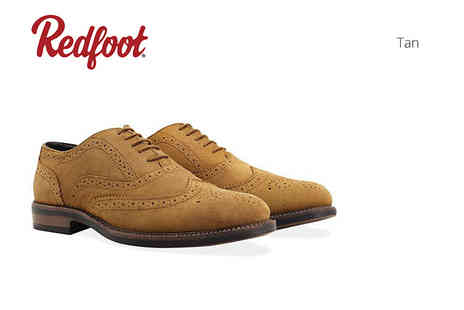 Shoeprimo - Pair of mens Brogue shoes with water resistant coating - Save 79%