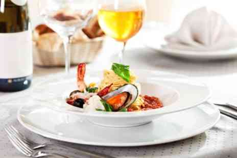 Fratelli - Two Course Meal with Wine for Two or Four - Save 48%
