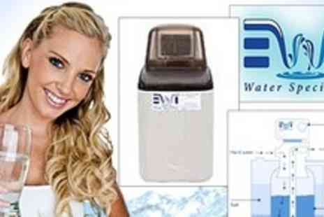 EWT - Fully Installed Household Water Softener Unit - Save 50%