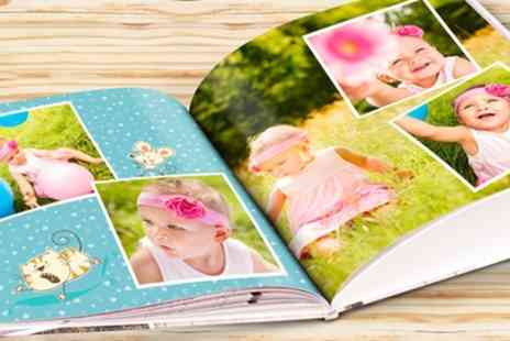 eColorland - 28 Page A4 Hardcover Photobook, or One or Two 40 or 60 Page A4 Hardcover Photobook - Save 80%