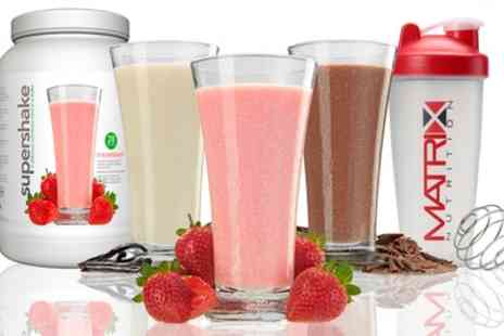 Groupon Goods Global GmbH - 28 Day Supply Matrix Diet Supershake Meal Replacement - Save 60%