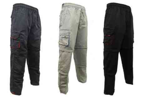 Groupon Goods Global GmbH - Mens Three in One Combat Trousers - Save 0%