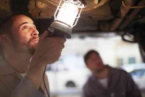 PJE Automotive - 62 Point Full Service with MOT, Oil and Oil Filter Change - Save 67%