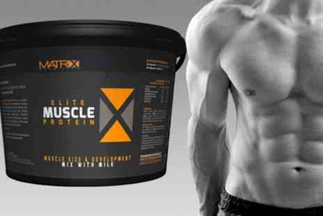 Groupon Goods Global GmbH - 2.25kg or 4kg of Matrix Elite Muscle Protein - Save 64%