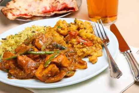 Tadka - Three Course Meal with Wine for Two or Four - Save 56%