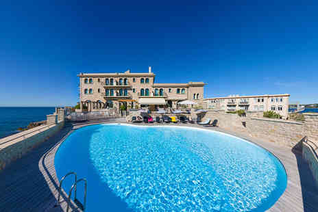 Hotel Delos Ile De Bendor - Four Star Charming Coastal Getaway Stay For Two - Save 43%