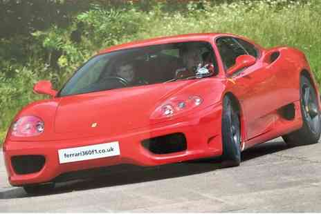 Ferrari 360 F1 - Junior supercar experience - Save 62%