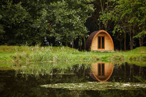 New Farm Holidays - Two or Four night camping pod or deluxe pod stay for two - Save 37%