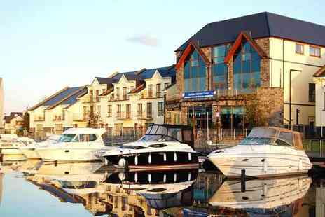 The Marina Hotel - Overnight stay for two with breakfast and late checkout - Save 43%