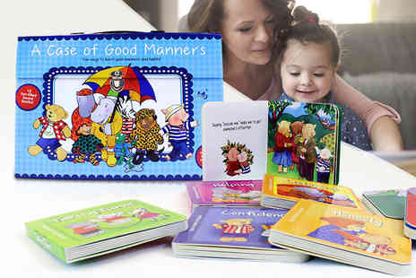 Books Direct - A Case for Good Manners and Habits Carry Case book set - Save 55%