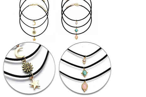 Your Ideal Gift - Six piece choker charm set - Save 76%