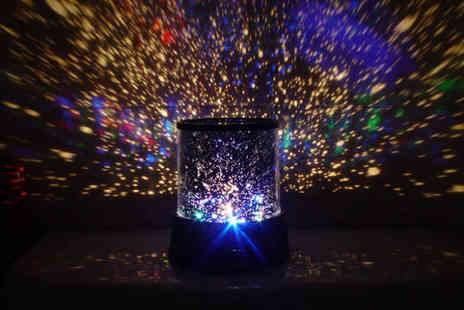 Cheeky Box - LED starlight projector - Save 84%