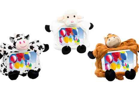 Groupon Goods Global GmbH - Farmyard Character iPad Case - Save 70%