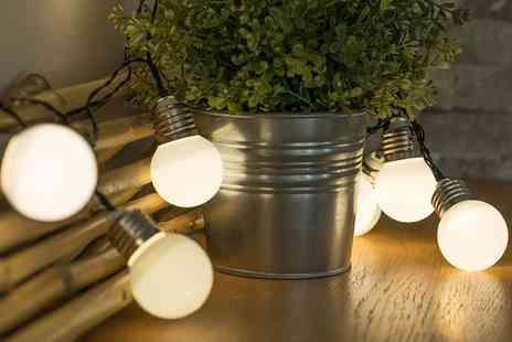 Groupon Goods Global GmbH - Mini Retro Bulb Battery Operated Fairy String Lights - Save 65%