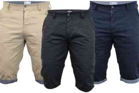 Groupon Goods Global GmbH - Mens Brave Soul Casual and Biker Shorts - Save 0%