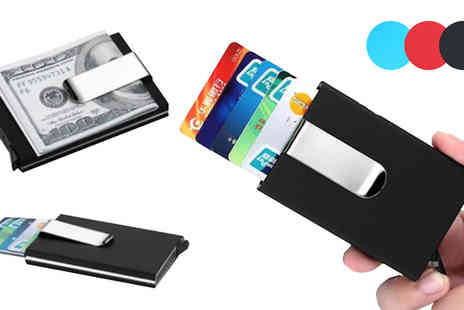 Boom Deals - Automatic Card Holder in 3 Colours - Save 85%