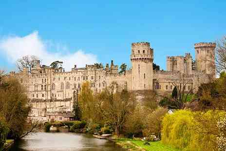 Premium Tours - Luxury coach tour of Warwick Castle, Stratford, Oxford and the Cotswolds - Save 50%