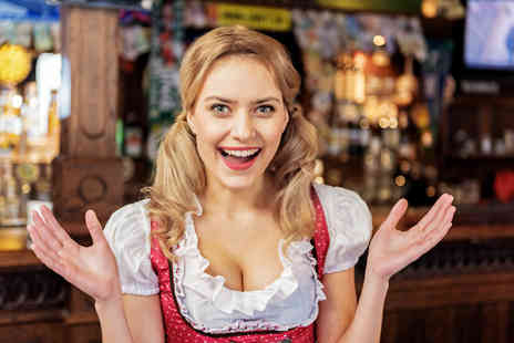 London Oktoberfest - Two tickets to Bierfest with German Schnitzel and a glass of German wine each - Save 0%