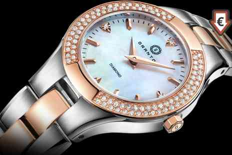 Deal Of Fame - Granton Influence and Presence Womens Diamond Watches With Free Delivery - Save 91%