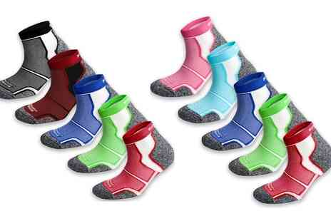 Groupon Goods Global GmbH - Running Socks Set in Choice of Colour - Save 43%