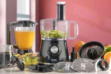 Groupon Goods Global GmbH - Cooks Professional Food Processor with 12 Accessories - Save 60%