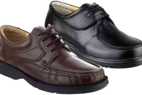 Groupon Goods Global GmbH - Mens Amblers Charles, Angus or Berlin Casual Shoes - Save 49%