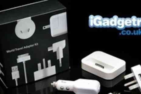 iGadgetry.co.uk - iPhone and iPod Charger Power Bundles from £12 at Extreme Fliers - Save 75%