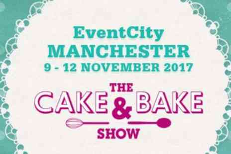 The Cake & Bake Show - One or two day tickets to The Cake & Bake Show on 9 To 12 November - Save 46%
