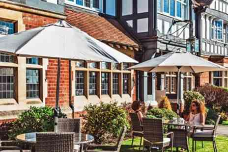 Colwall Park - Afternoon Tea with Bubbly for 2 near Malvern Hills - Save 48%