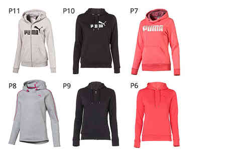 Deals Direct -  Puma crop top, tank top, long sleeved top, hoodie or pair of tracksuit trousers choose from 13 sporty styles! - Save 0%