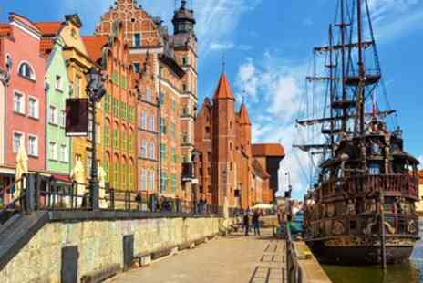 Broadway Travel - Three Night Gdansk Break with Flights - Save 0%