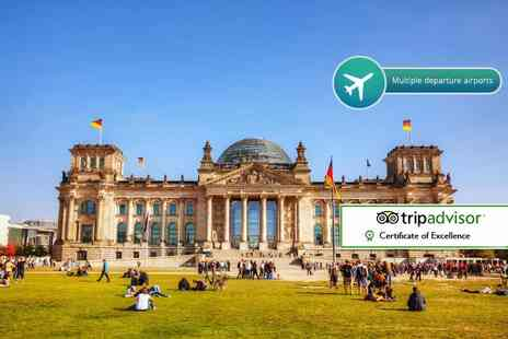 Crystal Travel - Two or Three night Berlin break with breakfast and return flights - Save 44%