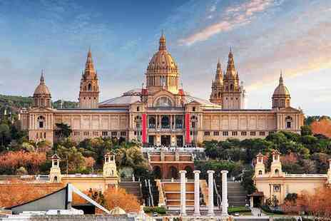 Crystal Travel - Two or Three night Barcelona break including flights and Hard Rock Cafe dinner - Save 30%