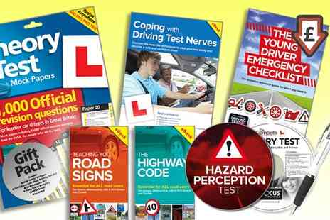 Groupon Goods Global GmbH - One or Two The Learner Driver Gift Pack Theory Test Papers and Driving Test PCDVD - Save 81%