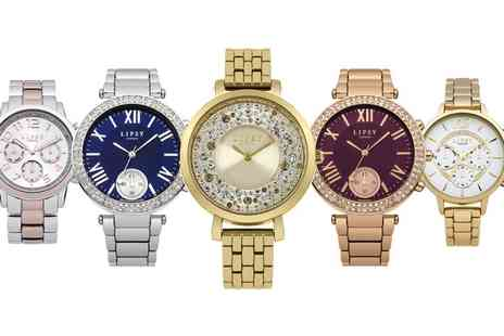 Groupon Goods Global GmbH - Lipsy Womens Quartz Watch in Choice of Style - Save 20%