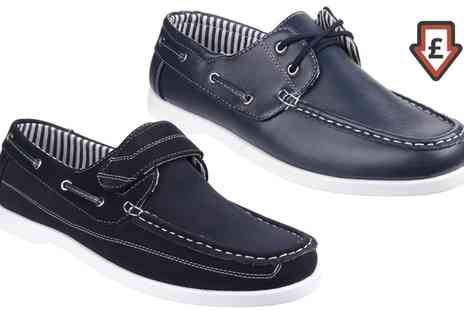 Groupon Goods Global GmbH - Mens Fleet And Foster Boat Shoes - Save 41%