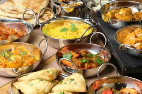 Desi Dhabaa - Two Course Indian Meal with Rice or Naan for Two or Four - Save 60%
