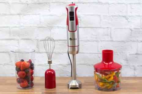 Groupon Goods Global GmbH - Dihl 800W Three in One Hand Blender in Choice of Colour - Save 62%