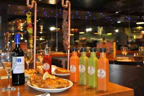 Galetos - Choice of Peri Peri Chicken Platter to Share Between Pairs for Up to Six - Save 20%