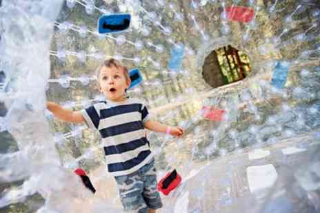 Pump It Up Events - Adult or Childrens Water Zorbing Experience for One, Two or Four with Pump It Up Events - Save 44%