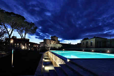 Borgo Dei Conti Resort - Five Star Gothic Chateau Surrounded by Rolling Vineyards Stay For Two - Save 70%