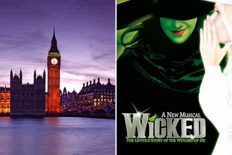 Wicked & Guoman Cumberland Hotel - Four Star West End Stay with a Show - Save 0%