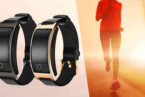 Goods Direct - Sports Activity Tracker with Heart Rate Monitor and Blood Pressure Monitor - Save 59%